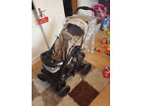 Graco Quattro Tour Deluxe Travel System, Pram, Carseat & base and more