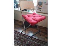 3x Ikea Bar Stools & Cushions CHEAP