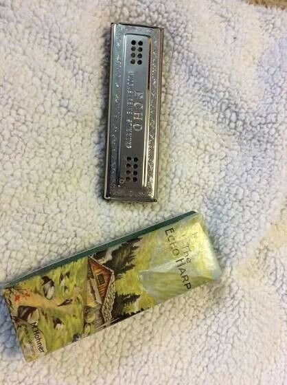 ECHO HARP Harmonica, M honer C&G 64 hole