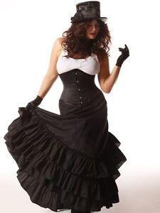 Victorian bustle skirt size 2X