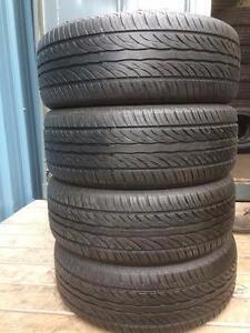 4 quality used P 225/60/16 Sailun Atrezzo SH402 all season tires in great condition