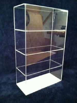 USA- Acrylic CounterTop Display Case 9.5 x 4 x16 Showcase Se