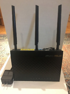 ASUS Wireless AC Router RT-AC66U Dual Band 3x3 802.11AC gigabit