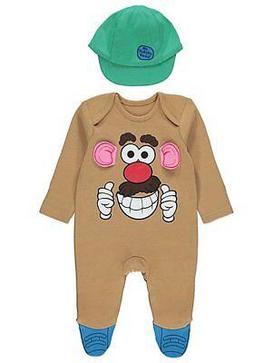 Baby Boys Disney Toy Story Mr Potato Head All In One Fancy Dress Size 0-18 Month - Baby Potato Costume