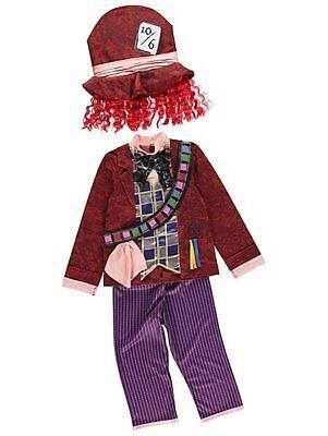 George Disney Alice Im Wunderland Hutmacher Kostüm Schicke Verkleidung Outfit