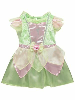 BABY Girl Disney Tinkerbell Party Costume Fancy Dress Outfit 6-24  months](Infant Tinkerbell Costume 6 Months)