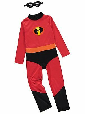 George Disney The Incredibles 2 Dash Boys Fancy Dress Costume Outfit