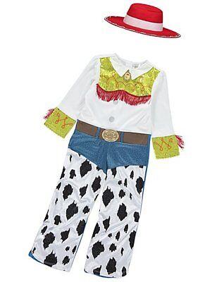 Mädchen Disney Toy Story Cowgirl Jessie Kostüm Kinder - Jessie Mädchen Kostüm