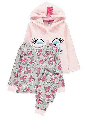 Girls My Little Pony Hoodie and Pyjamas Set - My Little Pony Pinkie Pie Hoodie