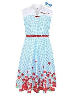 BNWT Adults Dorothy from the Wizard of Oz fancy dress costume Various Sizes - Dorothy From Wizard Of Oz Costume