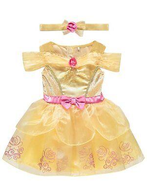 Baby Mädchen Disney Prinzessin Belle Party Kostüm Kostüm Outfit 6-24 - Baby Belle Kostüm