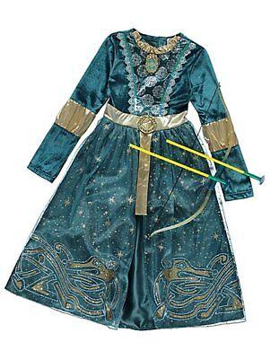 Mädchen Disney Prinzessin Merida Kostüm Pfeil und Kostüm Kinder 3-10 Ys ()