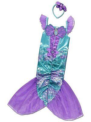 George Disney Prinzessin Ariel Kleine Meerjungfrau Kostüm Kleid Outfit Büchertag ()