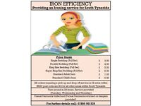 Ironing service for South Shields SPECIAL OFFER, 50% off first order