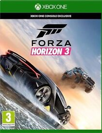 Brand new, Sealed, Forza Horizon 3 for Xbox One. Cheapest around.