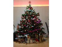 Large artificial Christmas Tree