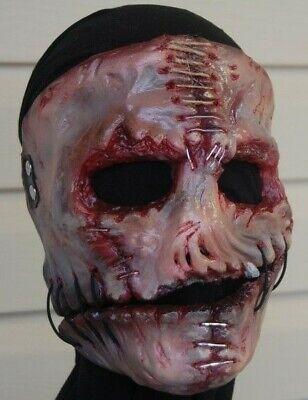 Slipknot Corey Taylor Vol 3 The Subliminal Verses Mask Horror Halloween maggot](Maggot Mask Slipknot)