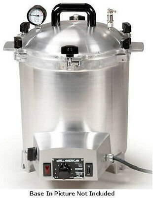 New ALL AMERICAN 50X Electric Autoclave Sterilizer