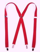 Mens x Back Suspenders