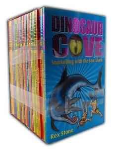 Rex-Stone-Dinosaur-Cove-Series-Collection-23-Books-Set-1-to-23-Pack-Brand-New-PB
