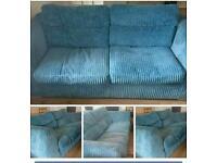 2 x 3 seater sofas £120 each