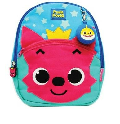 Pinkfong Missing Child Prevention Safety Strap Backpack Melody Bag Sack