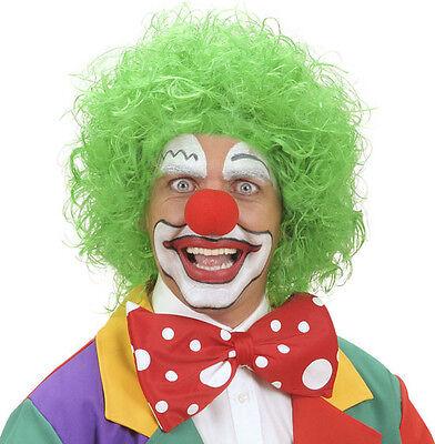 Clown Perücke in grün NEU - Karneval Fasching - Grüne Clown Perücke
