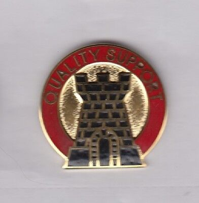 US Army 99th Support Group Supply Quartermaster QM crest DUI badge G-23