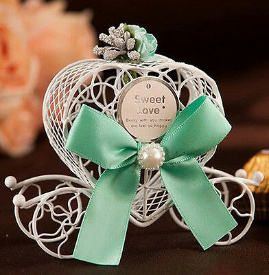 Candy Cinderella Birthday Party Wedding Chocolate Ribbon Favours Carriage Decor