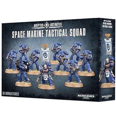 Brand-NEW: 10-Man Space Marines TACTICAL SQUAD! -Games Workshop GW Warhammer 40K