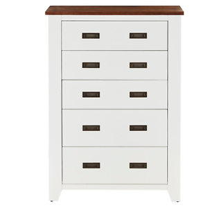 NEW SORRENTO 5 DRAWER WHITE TALLBOY . Liverpool Liverpool Area Preview