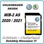 VOLKSWAGEN AS V13 2021 EUROPA DISCOVER MEDIA MIB2 SD-KAART