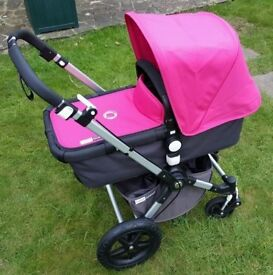 Bugaboo Cameleon 3 with New hood, apron, seat liner