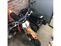 Motorbike and Quad for sale