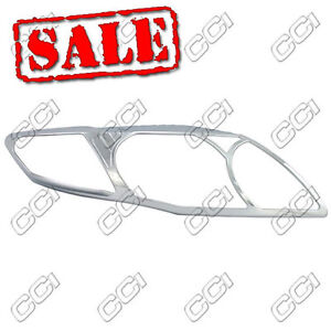 2009-2010 TOYOTA COROLLA CHROME HEAD LIGHT HEAD LAMP TRIM KIT FREE SHIPPING