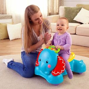 Elephant trotteur Fisher price bounce and ride