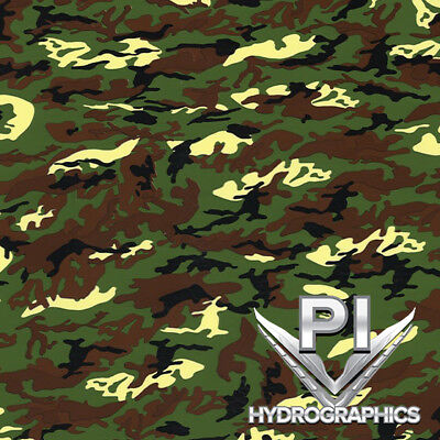 Hydrographic Film Hydro Dipping Water Transfer Printing Vietnam Camo Mc954