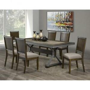 RUSTIC DINING TABLE - LOWEST PRICE ON FURNITURE IN GTA (BD-1179)