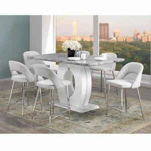 WHITE DINING SET WITH FINE QUALITY AND MODERN LOOK (ID-248)