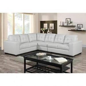 LEATHER SECTIONALS  SOFA SETS ON SALE (AD 643)