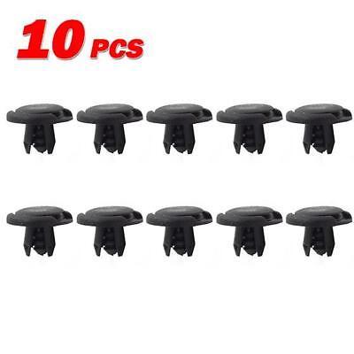 10 for Honda for Acura Push Type Fender Liner Clip Nylon Retainer Rivet