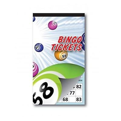 996 Jumbo Bingo Tickets Book Pad Security Coded Raffle Family Party B'Day Games
