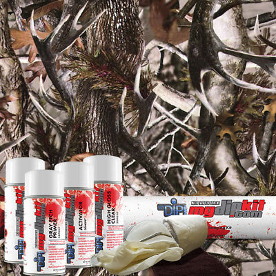 Hydrographic Film Kit Hydro Dipping Water Transfer Printing True Rutt Camo Hc602