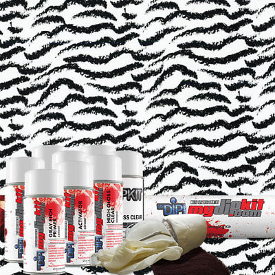 Hydrographic Film Hydrographic Kit Hydro Dipping Kit Clear Tiger Ap-820