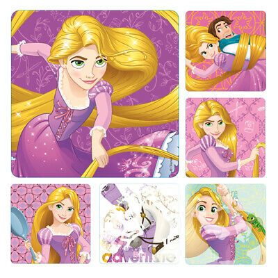 Disney Princess Parties (25 Disney Princess Rapunzel Tangled Stickers Teacher Supply Party Favors)