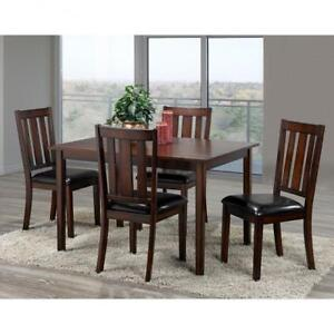 Wooden Kitchen Set with 4 chairs on Sale (BD-1814)