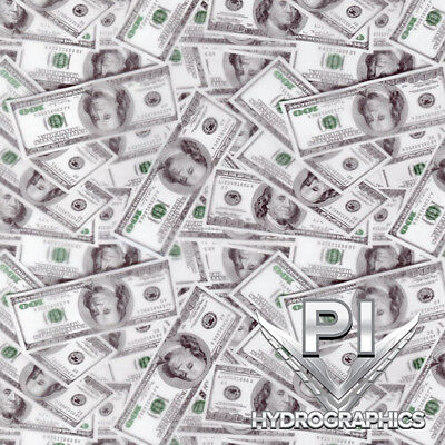 Hydrographics Film Hydro Dipping Water Transfer Printing 100 Bills Money Ll940