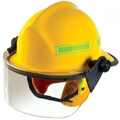 Yellow Standar Fire Dex 911 Helmet New  4 Visor 911h712 165137
