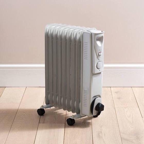 2 medium size oil heaters