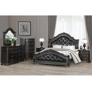 8 PC Queen Traditional Bedroom Set on Sale (BD-1865)